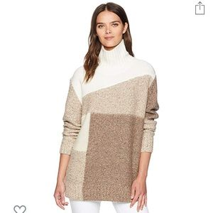 Anna Patchwork Knitted Sweater from FCNY